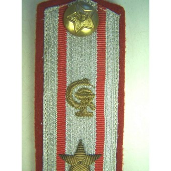 Germany made shoulder straps for Soviet-Russian medical colonel. Espenlaub militaria