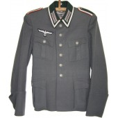 Officer's quality field tunic for Wehrmacht Artillery- Unteroffizier.