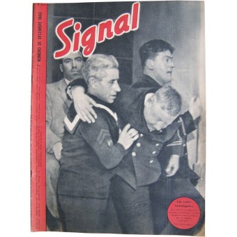 Signal magazine in French language. Espenlaub militaria