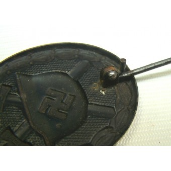 1939 Unmarked Black woundbadge. Espenlaub militaria