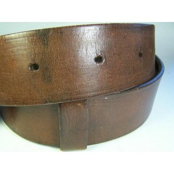 RKKA pre war leather belt for enlisted personnel. Espenlaub militaria