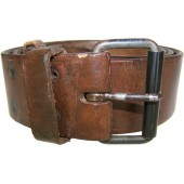 RKKA pre war leather belt for enlisted personnel