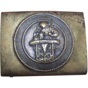 German early third Reich Kaminkehrer Union - Chimney Sweeps union belt buckle.. Espenlaub militaria