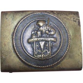 German early third Reich Kaminkehrer Union - Chimney Sweeps union belt buckle.. Espenlaub militaria