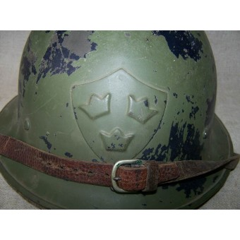 M 21/16 first type of Swedish steel helmet. Espenlaub militaria