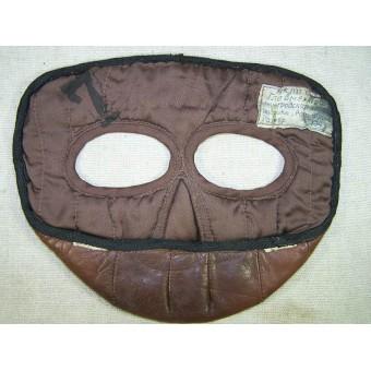 Pre war Soviet flyers leather face mask marked 194?. Espenlaub militaria