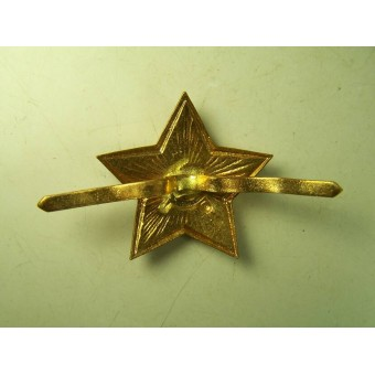 Unissued M35 pre-war made star for visorhats, winter headgear and etc.