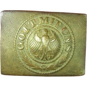Reichsheer white brass buckle. Espenlaub militaria