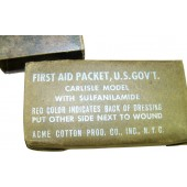 Medical first aid kit US made, Lend lease