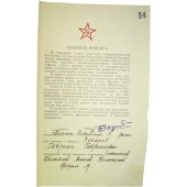 Red Army military oath