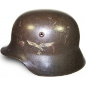 M35 Luftwaffe double decal steel helmet