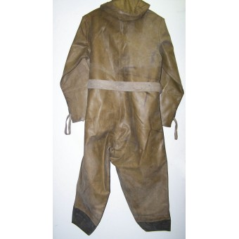 Red Army WW2 era chemical defense rubberized overall-OZK. Espenlaub militaria