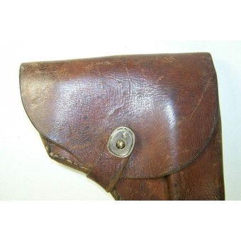 Custom made by airforce depot leather holster for a TT pistol. Espenlaub militaria