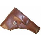 Custom made by airforce depot leather holster for a TT pistol