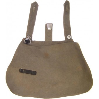 Early HJ breadbag, with a oilcloth HJ tag. Espenlaub militaria