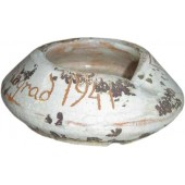 German ceramic ash-tray, souvenir