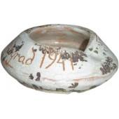 German ceramic ash-tray, souvenir