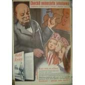 WW2 German propaganda poster in Estonian language