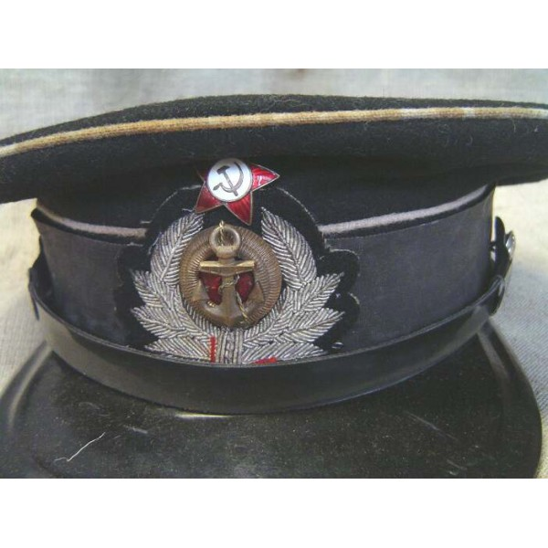 Pre soviet naval engineer or medical visor hat headgear jpg 600x600 Visor  soviet navy hats 7e3c6d475b4e
