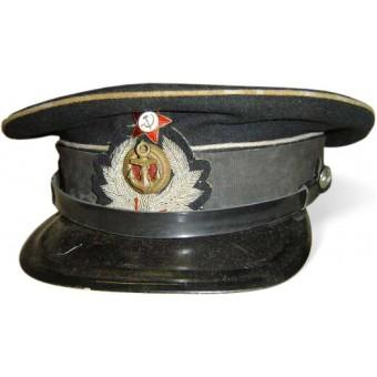 Pre WW2 Soviet naval engineer or medical visor hat. Espenlaub militaria