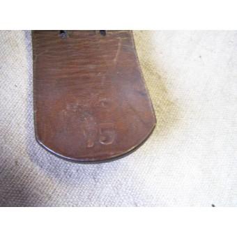 Wehrmacht leather belt with steel buckle. Espenlaub militaria