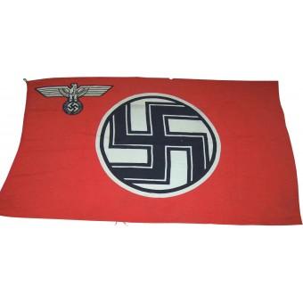 3 Reich Reichsdienstflag 150x 250 cm. Espenlaub militaria