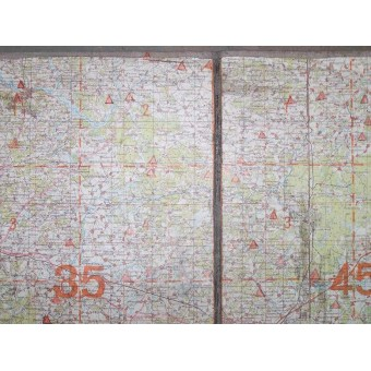 Set of the Luftwaffe maps, Ostfront.. Espenlaub militaria