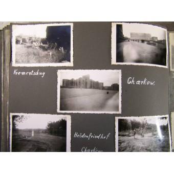 Album of the crewman of a 2 cm Flak, West and Ost fronts. Espenlaub militaria