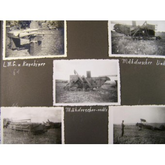 Album of the crewman of a 2 cm Flak, West and Ost fronts. Espenlaub militaria