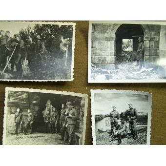 Set of 440 pictures west and ost fronts. Espenlaub militaria