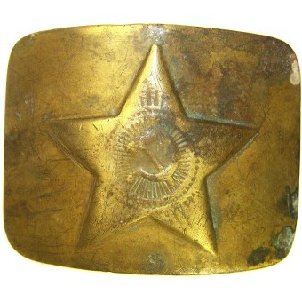 Brass M 36 Soviet buckle. Espenlaub militaria