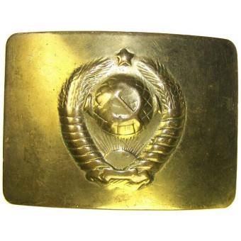 Brass M 47 Militia buckle. Espenlaub militaria