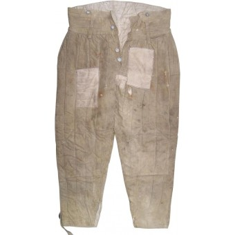 Salty soviet padded trousers, dated 1941. Espenlaub militaria