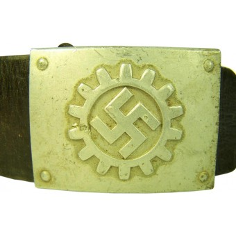 DAF aluminum belt and buckle, M 4/27. Espenlaub militaria