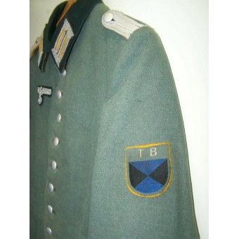Factory converted Waffenrock to the field tunic for  Terek Cossack!. Espenlaub militaria