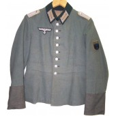 Factory converted Waffenrock to the field tunic for  Terek Cossack!