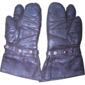 Luftwaffe or dispatch riders leather gloves.