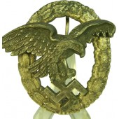 Luftwaffe, Kriegsmetall Paul Meybauer Observer badge