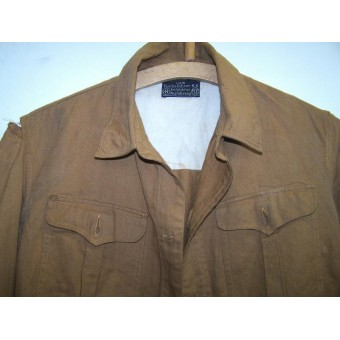SA/SS brown shirt. W/o insignia.