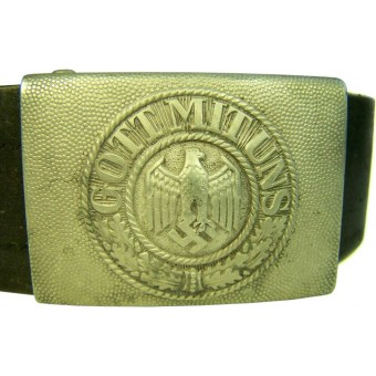 Early Wehrmacht belt in size approx 100 cm. Espenlaub militaria