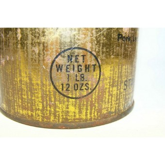 Lend-lease meat can, USA made special for Red Army.. Espenlaub militaria
