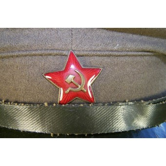 M 28 Field pea color wool visor hat.. Espenlaub militaria