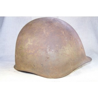 M 40 helmet , 3 pad liner, very early issue, marked 1941. Espenlaub militaria