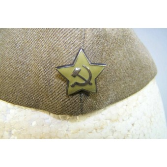 Red Army mid war issue, US wool made pilotka sidecap in size 57. Espenlaub militaria