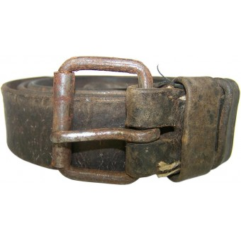 RKKA, enlisted men leather belt in length of 97 cm.. Espenlaub militaria