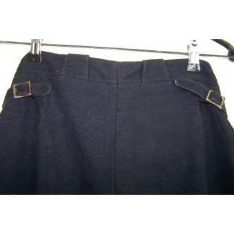 Unmarked private purchased wool commanders trousers for infantry. Espenlaub militaria
