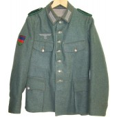 Azerbaijan volunteer in Wehrmacht tunic.