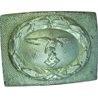 Luftwaffe Zink buckle, early, with drop tail eagle.. Espenlaub militaria