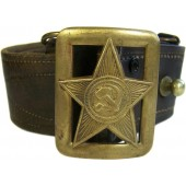 M 35 belt with star buckle for commanding crew/ officers of RKKA
