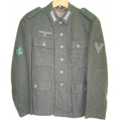 M 43 tunic for Obergefreiter - Jager